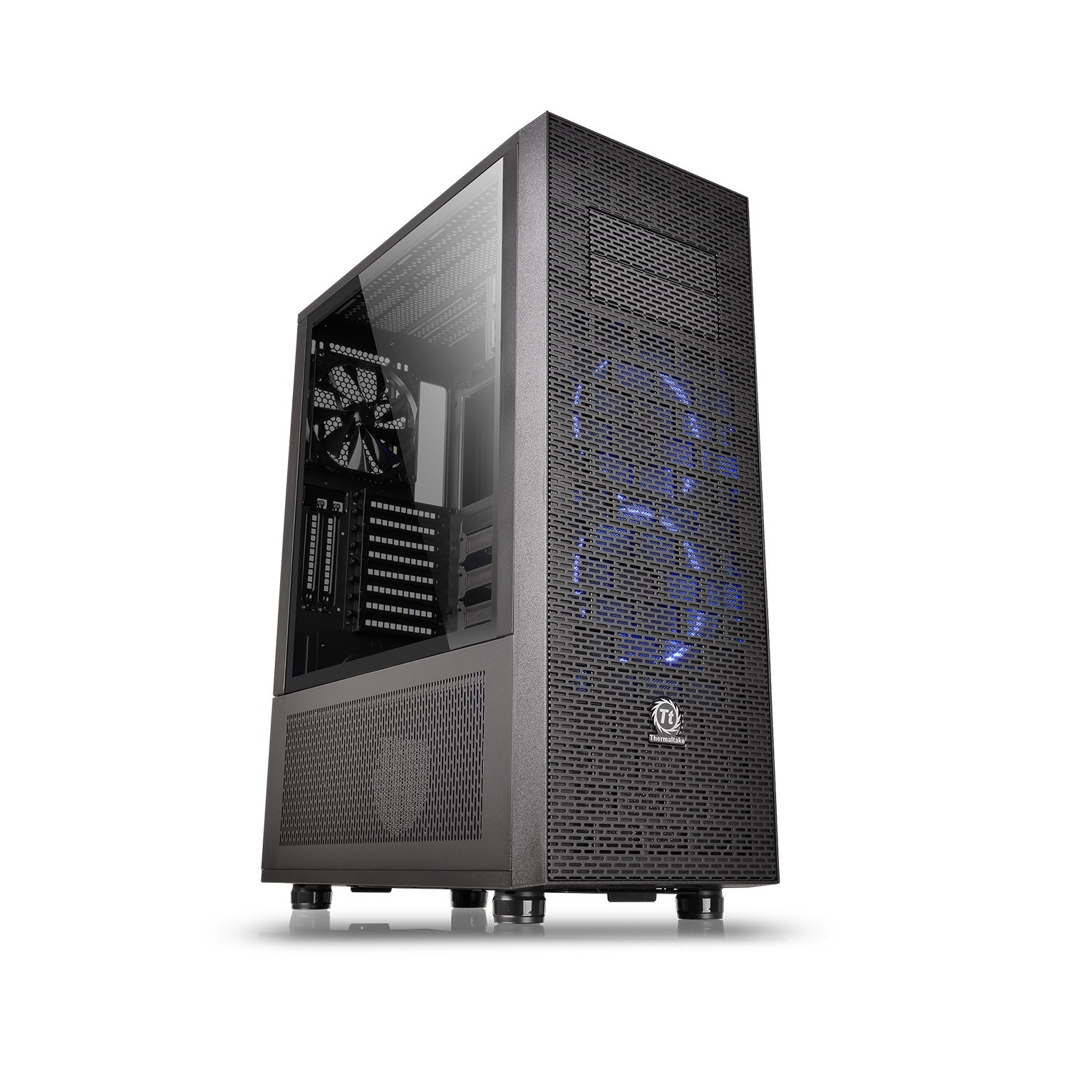 Thermaltake Core X71 Tempered Glass Full Tower ATX Gaming Computer Chassis - CA-1F8-00M1WN-02