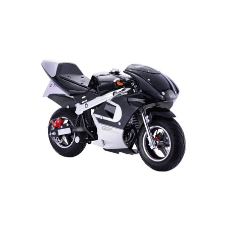 MotoTec GBmoto Gas Pocket Bike 40cc 4-Stroke Mini Motorcycle (Motorcycle Frame Construction)