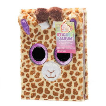 Stretch Giraffe (Fur Cover Sticker Book W Repo Pgs And Stkr Safari Giraffe)