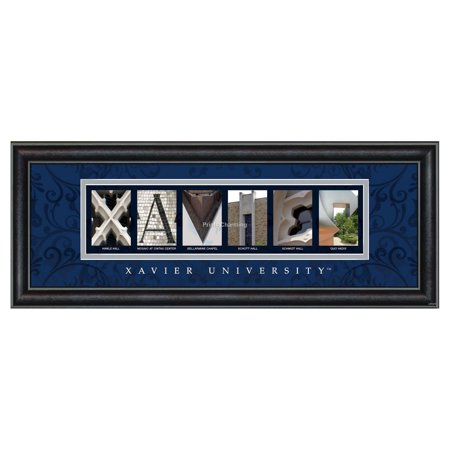 Framed Letter Wall Art - Xavier Ohio University - 20W x 8H in.](Ohio University Stars Halloween)