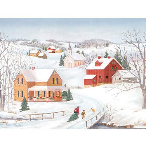 Fresh Snow For Christmas Boxed Christmas