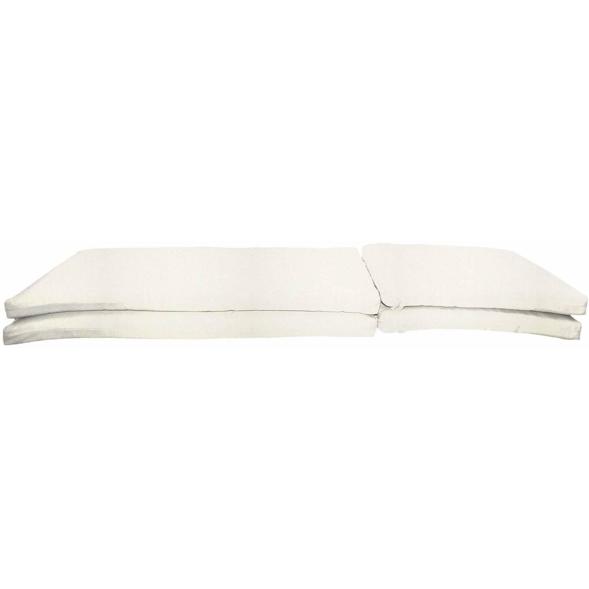 Sunbrella Designer Knife Edge Chaise Lounge Cushions, Set of 2