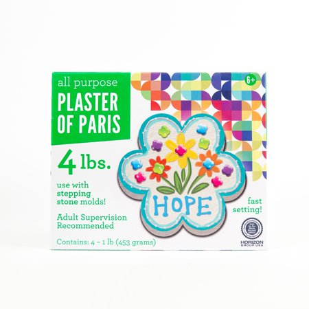 Plaster Of Paris, 4 lbs. by Horizon Group USA for $<!---->