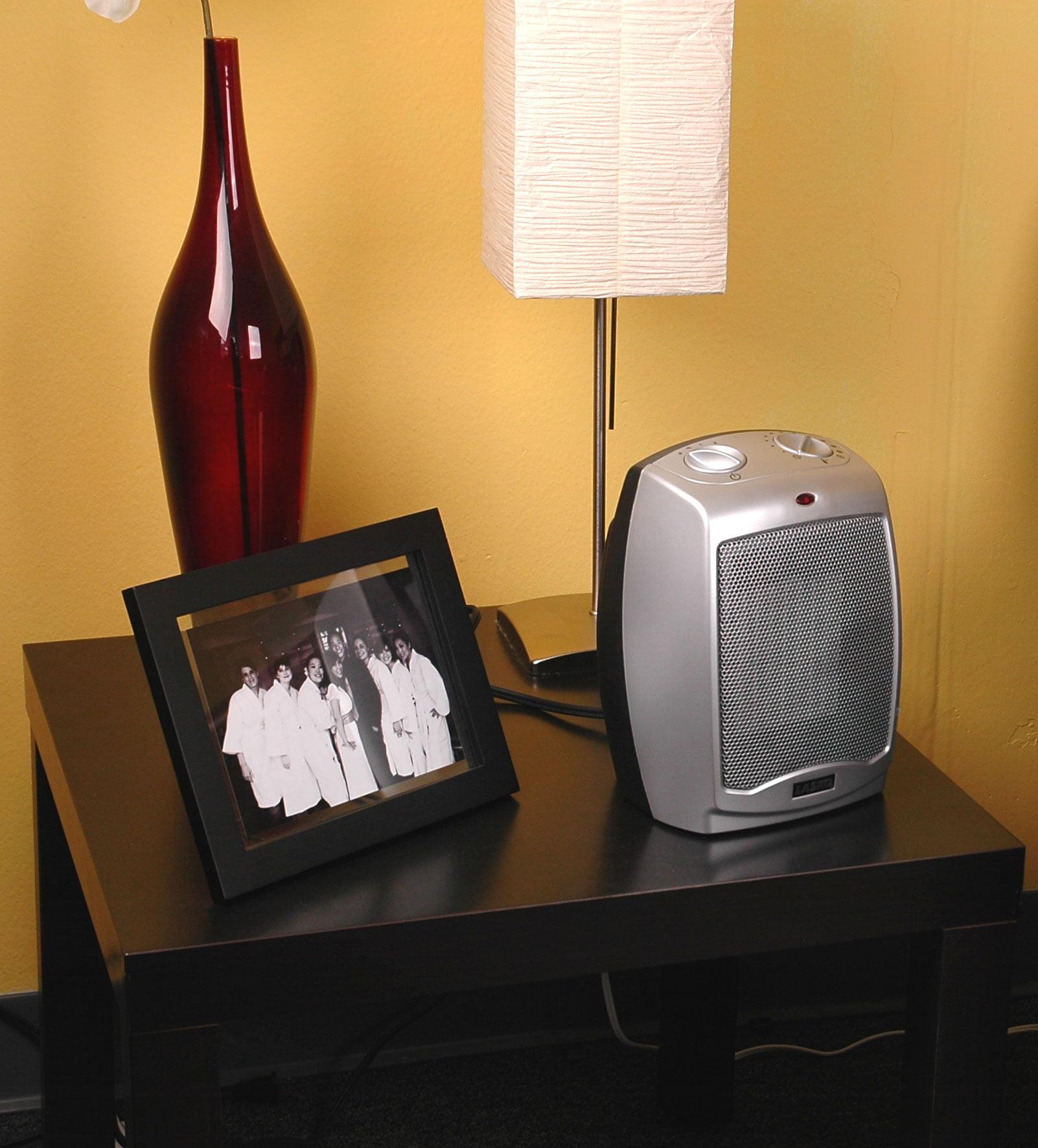 lasko electric ceramic 1500w heater silverblack 2 pack walmartcom