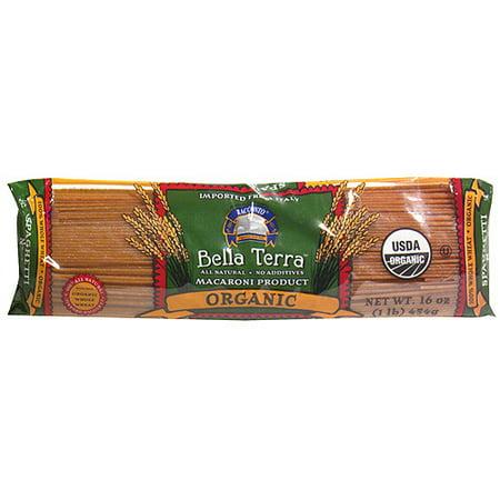 Bella Terra Organic Whole Wheat Spaghetti, 16 oz (Pack of (Organic Whole Wheat Shells)