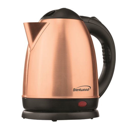 Brentwood Appliances Cordless Stainless Steel Electric Tea Kettle