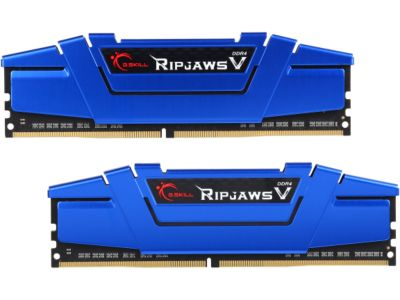 G.SKILL Ripjaws V Series 16GB (2x 8GB) 288-Pin DDR4 2400 PC4 19200) Intel Z170/X99 Platform Memory F4-2400C15D-16GVB