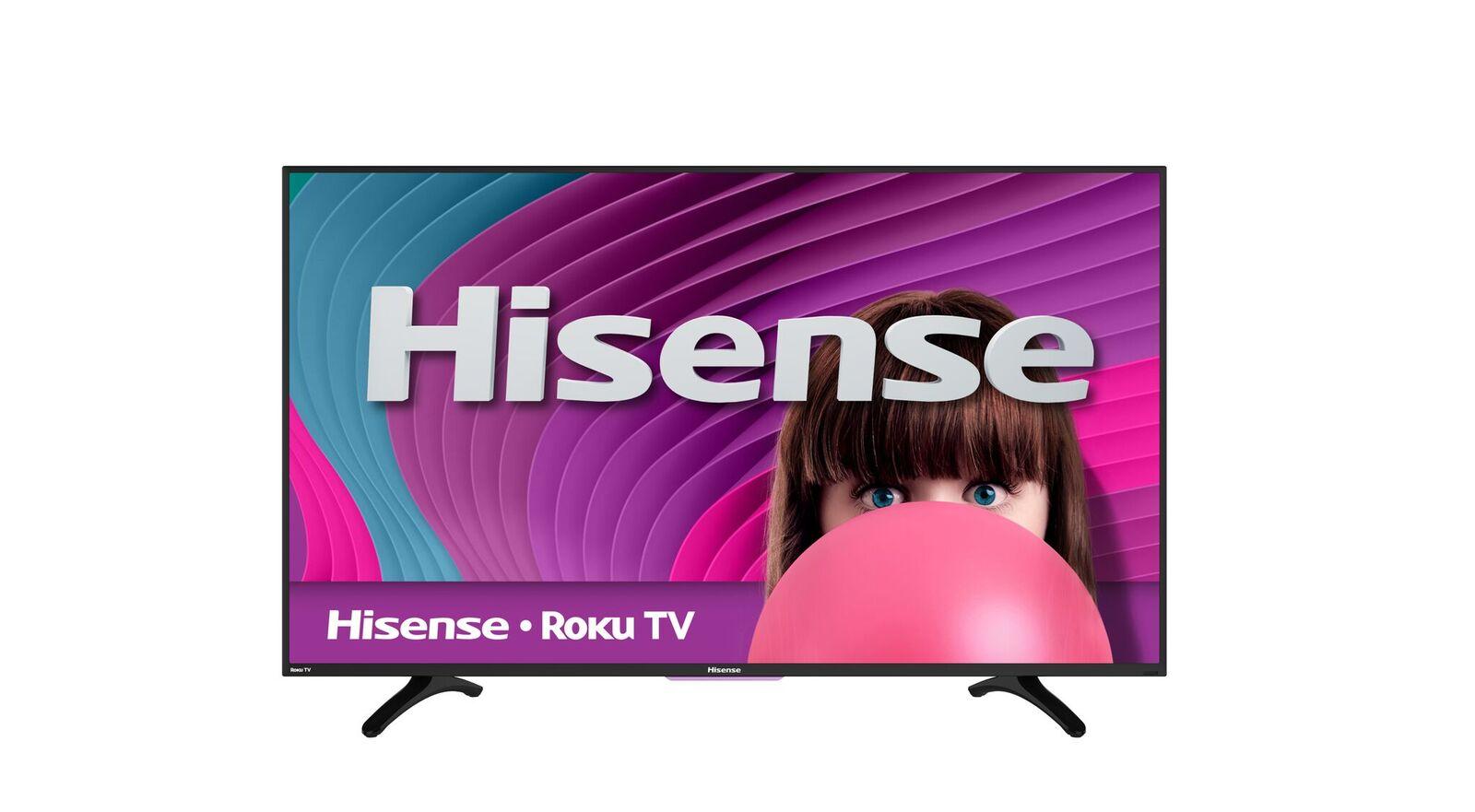 "Hisense 50H4C 50"" 1080p 60Hz LED Smart HDTV with Roku by Hisense"