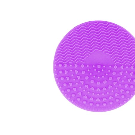 Silicone Makeup Brush Cleaning Mat Makeup Brush Cleaner Pad Cosmetic Brush Cleaning Scrubber Washing Tool - image 2 of 9