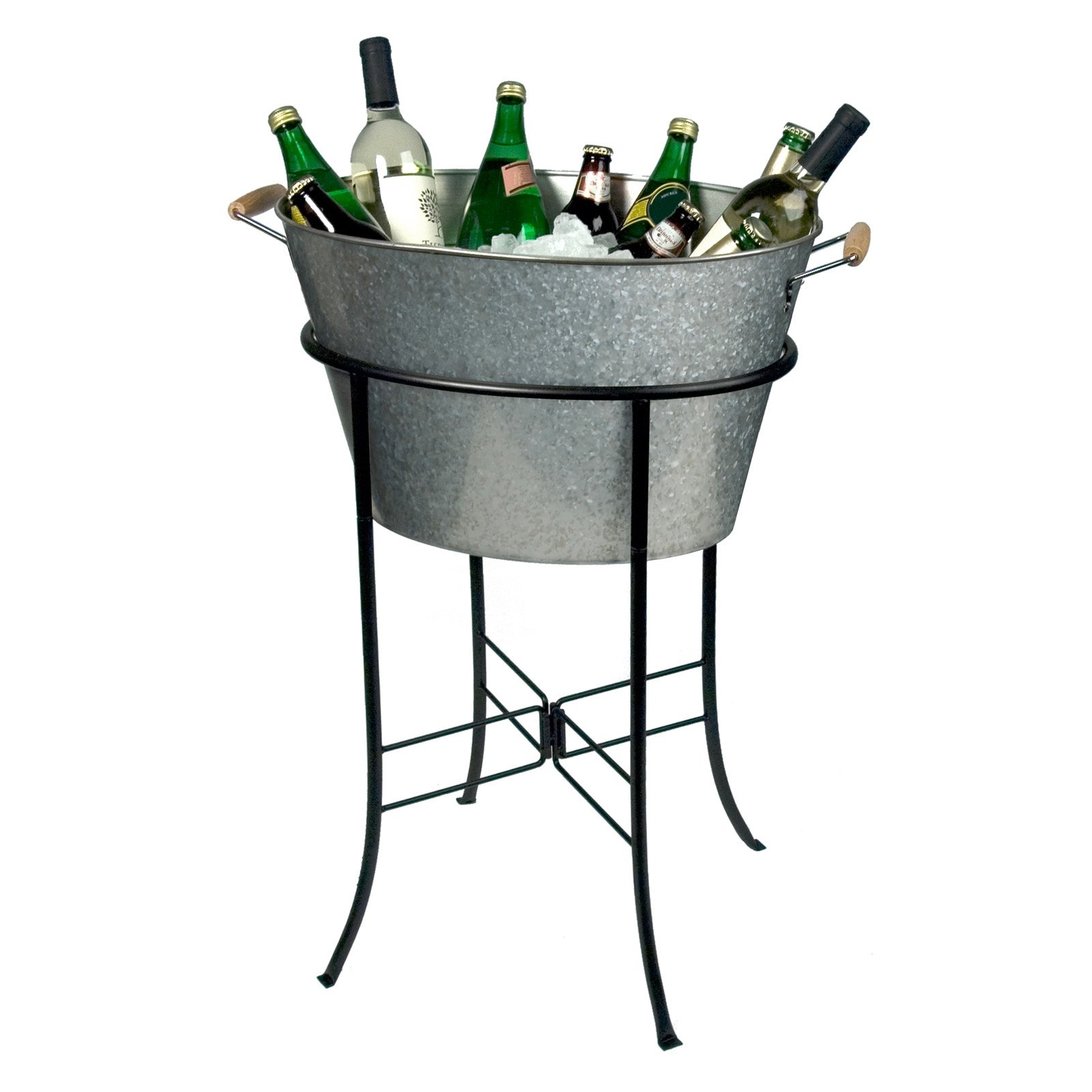 Artland Inc. Oasis Galvanized Party Tub with Stand