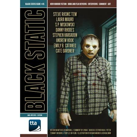 Black Static #45 Horror Magazine (Mar – Apr 2015) -