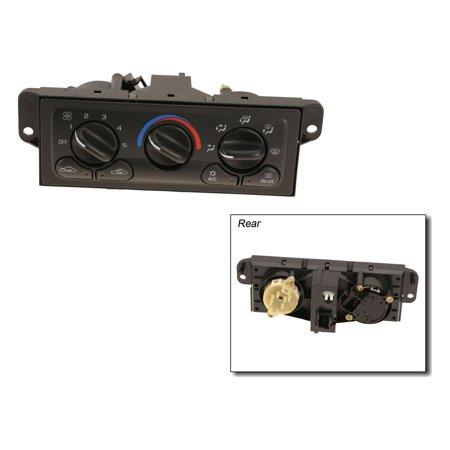 Replaces Original Equipment - AC Delco 15-72846 A/C & Heater Control