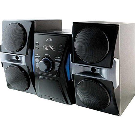 iLive Bluetooth Hi-Fi Mega Bass Reflex Stereo Music Sound System With Single Disc Cd Player, FM-Radio, Sleep timer, Remote