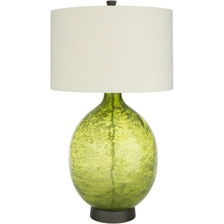 Surya Lulu Table Lamp With Cream And Grass Green Finish LUL-002