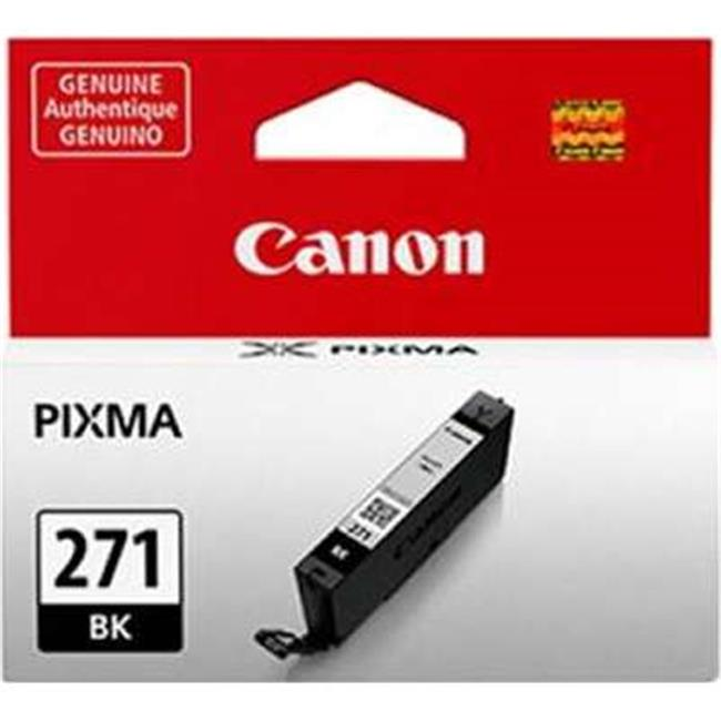 Canon Wide Format 0390C001 CLI-271 Ink, Black