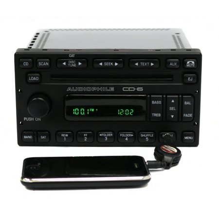 Ford Escape 2006-2007 Mercury Mariner AM FM Radio 6 Disc CD w Aux 6L8T-18C815-FD - (2013 Ford Escape Radio Buttons Not Working)