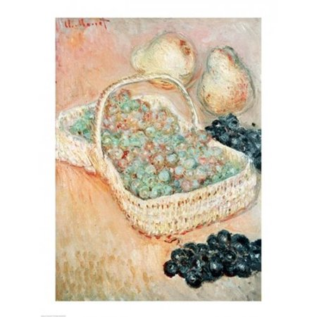 Posterazzi BALXIR205447 The Basket of Grapes 1884 Poster Print by Claude Monet - 18 x 24 in. - image 1 of 1
