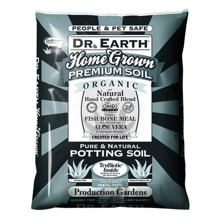 Bonsai Tree Potting Soil (Dr. Earth Organic & Natural Home Grown Pure & Natural Potting Soil, 1.5 CF)