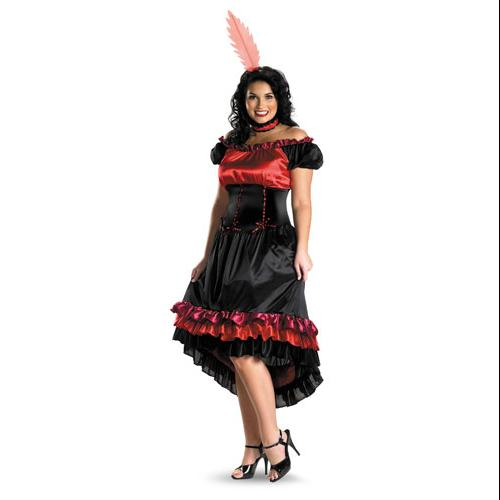 Can Can Plus Size Womens XXL Sexy Halloween Costume 22-24