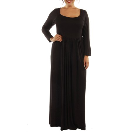 Women's Plus Figure Flattering Maxi Dress (Used Figure Skating Competition Dresses For Sale)