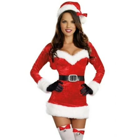 Women's Santa Baby Christmas Costume (Toddler Santa Costume)