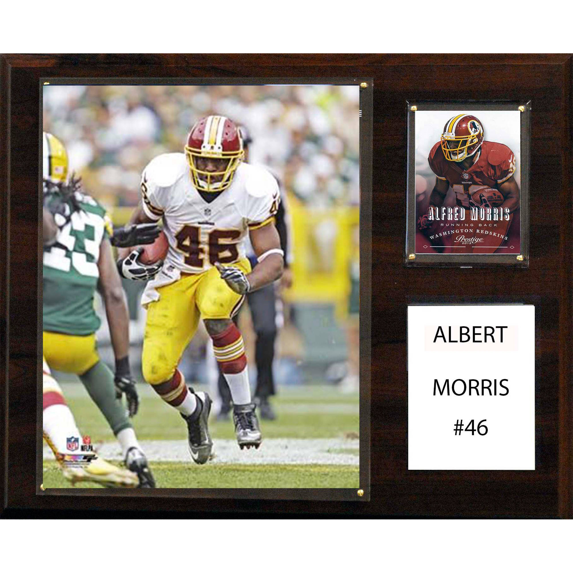 C&I Collectables NFL 12x15 Alfred Morris Washington Redskins Player Plaque