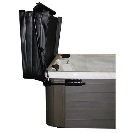 Hydraulic Assisted Hot Tub Cover Lifter by The Cover Guy - Opens Easily With One Hand - Spa Cover Lift - Strong & Compact - Improve Your Hot Tub Experience - Fits up to 96x96