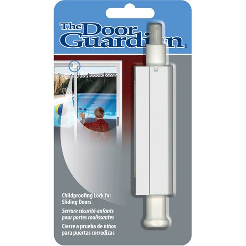 Cardinal Gates Patio Door Guardian Childproofing Lock, White