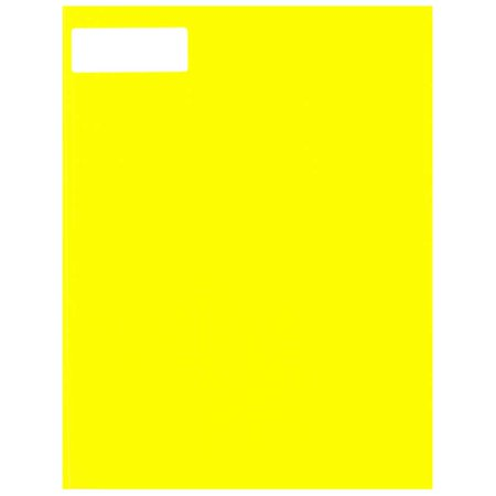 "JAM PAPER Shipping Address Labels - Standard Mailing - Small - 25.4 x 66.7 mm (1"" x 2 5/8"") - Neon Yellow - 120/Pack - image 2 of 4"