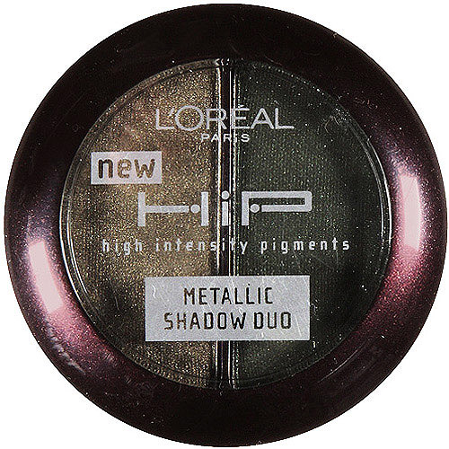 Loreal Loreal HiP High Intensity Pigments Metallic Shadow Duo, 0.08 oz