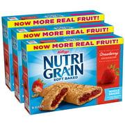Kellogg's Nutri-Grain Soft Baked Breakfast Bars, Strawberry, 10.4 Oz, 8 Ct