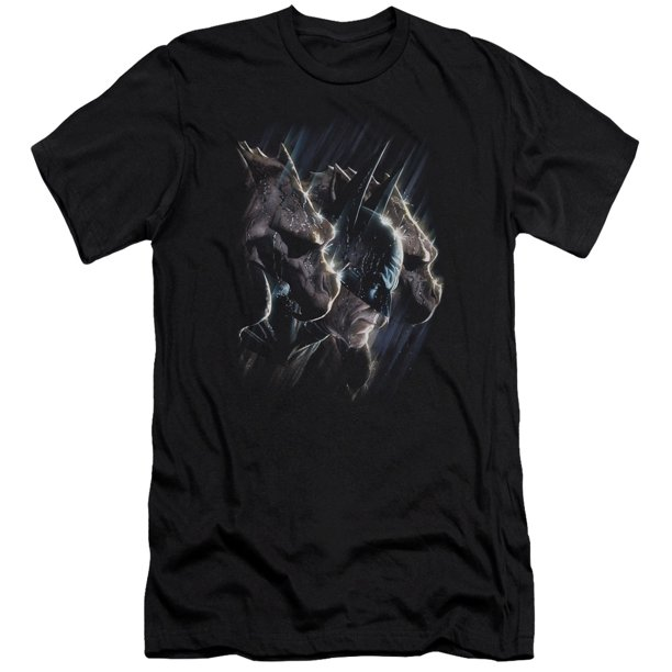 Batman Gargoyles Mens Premium Slim Fit Shirt