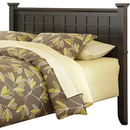 Home styles arts and crafts queen full h for Arts and crafts headboard