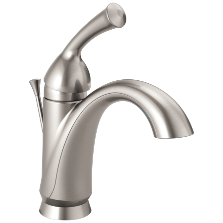 Delta Haywood Single Handle Single Hole Lavatory Faucet in Stainless 15999-SS-DST