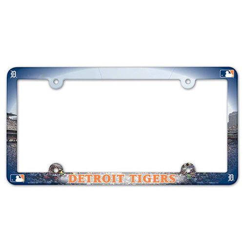 MLB - Detroit Tigers Plastic License Plate Frame