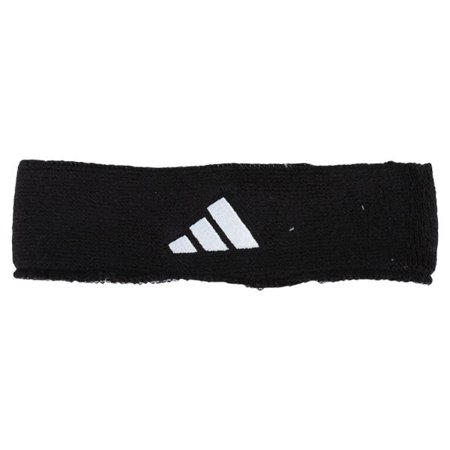 Interval Reversible Tennis Headband Black and White