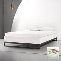 """Spa Sensations By Zinus 4"""" Memory Foam Mattress Topper, Multiple Sizes, With Theratouch"""