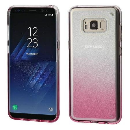 Samsung Galaxy S8 Case, by Insten Gradient Sheer Glitter Premium TPU Candy Skin Case For Samsung Galaxy S8 - Black - image 6 of 6