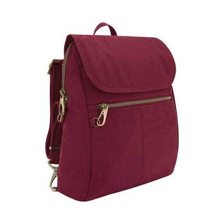 "Travelon Anti-Theft Signature Slim Backpack 11"" x 13"" x 2"""