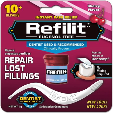 Majestic Materials - REFILIT Filling Material Cherry Flavor 2 g (Pack of 6)