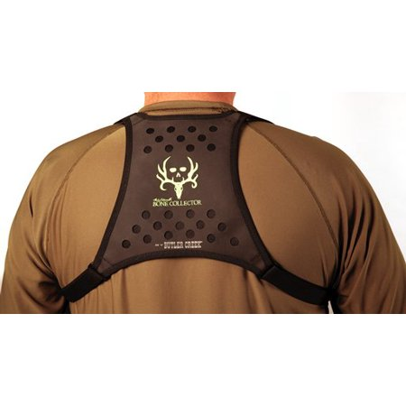 BUTLER CREEK DELUXE BINO CADDY HARNESS BLACK W/BONE COLLECTOR LOGO ()