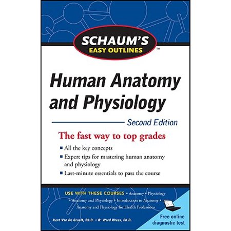 Schaum's Easy Outline of Human Anatomy and Physiology, Second