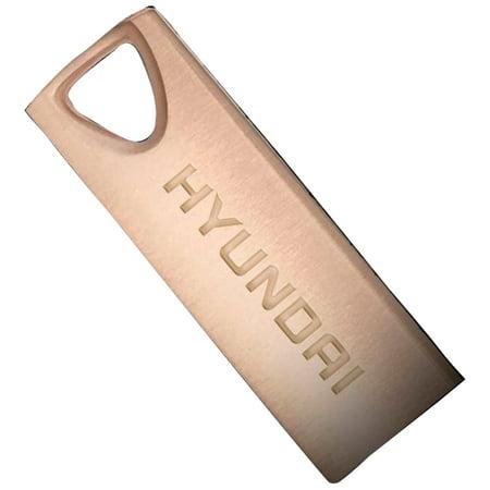 Hyundai Technology U2BK/8GARG 8GB Bravo Deluxe USB 2.0 Flash Drive (Rose