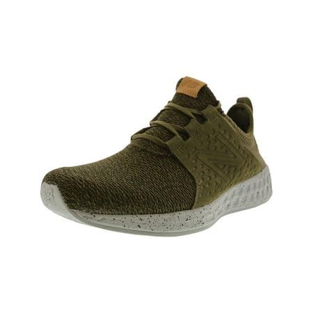 New Balance Mcruz Men's Mid Fabric Running Shoe - 12M - (Neon Pink And Yellow Nike Running Shoes)