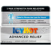 ICY HOT Advanced Pain Relief Cream 2 oz (Pack of 2)