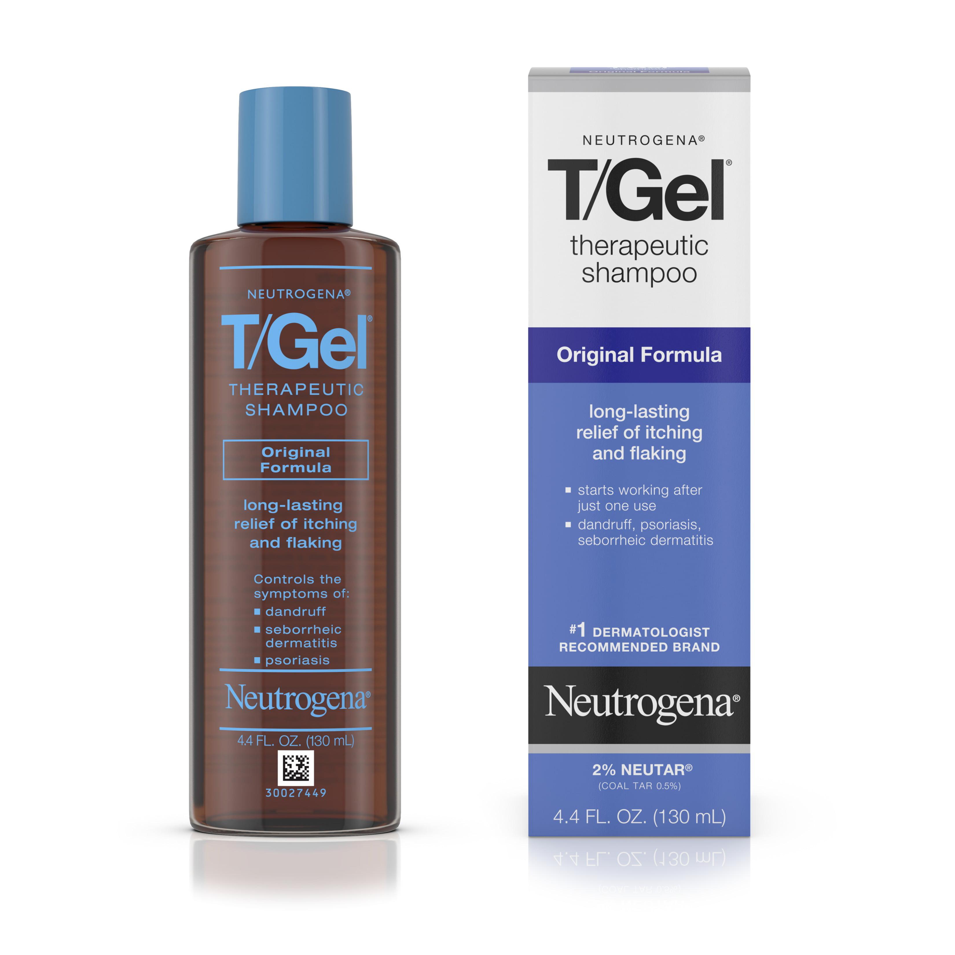 Neutrogena T/Gel Therapeutic Dandruff Treatment Shampoo, 4.4 fl. oz