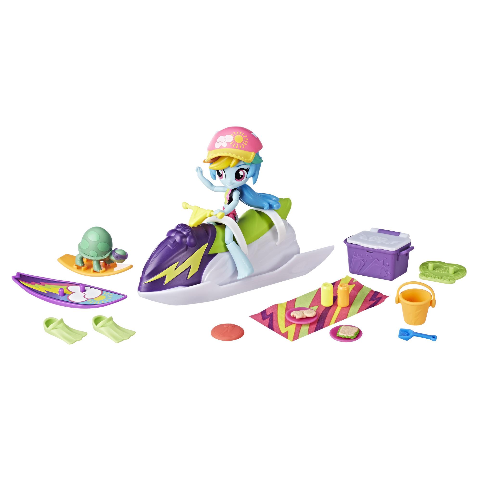 My Little Pony Equestria Girls Rainbow Dash Sporty Beach Set by Hasbro