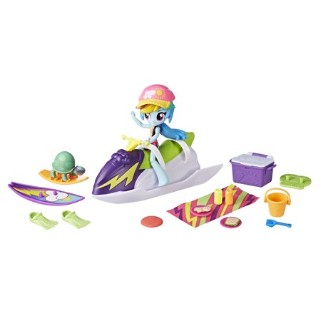 My Little Pony Equestria Girls Rainbow Dash Sporty Beach - My Little Pony Rainbow Dash Sister