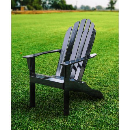 Highland Dunes Khiry Wooden Adirondack Chair Brickseek