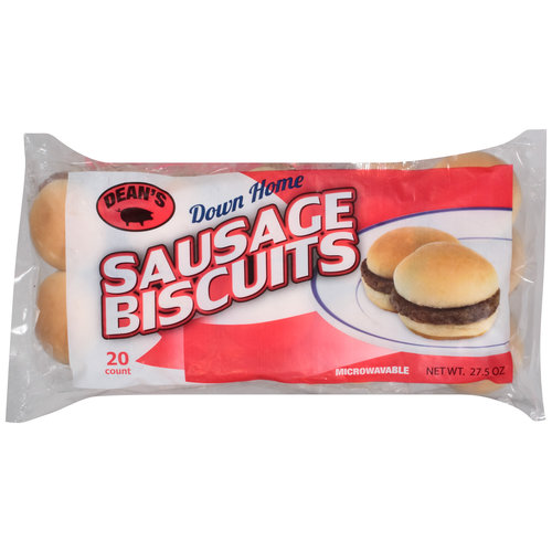 Dean's Down Home Sausage Biscuits, 20 count, 27.5 oz